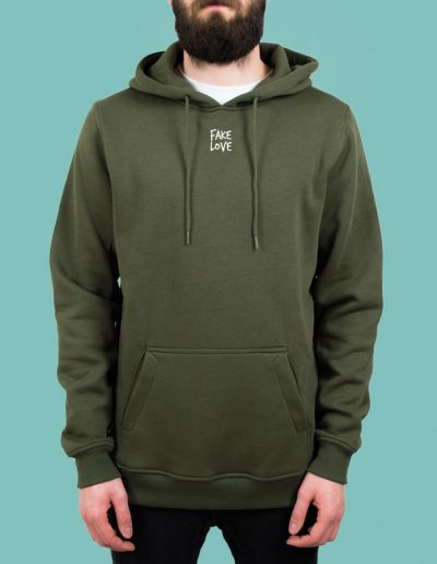 fakelove_olive_hoodie_front