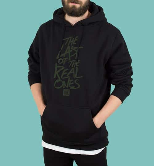 THE LAST OF THE REAL ONES | Hoodie – schwarz