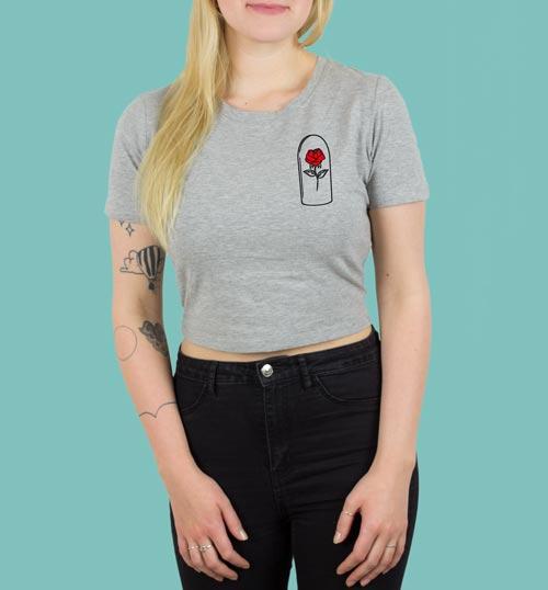 ROSE – Shirt – grau