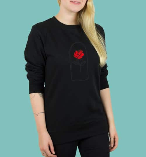 ROSE | Sweater – schwarz