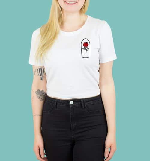 ROSE – Shirt – weiß