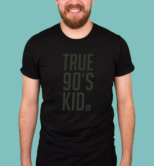 TRU90 | Shirt – schwarz